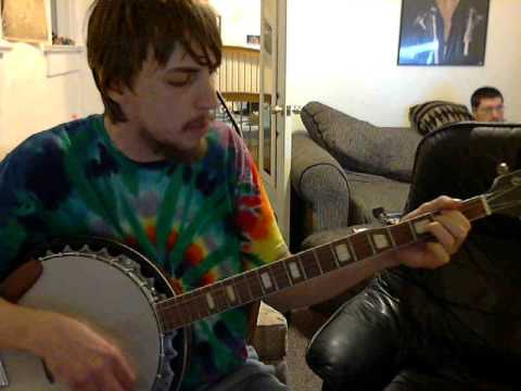 mother fucker song on banjo a little distorted