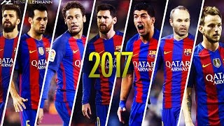 "Download the Onefootball app here: http://bit.do/HenrikLehmann_MayThe best dribbling skills, tricks and flicks by the whole Barcelona team including the likes of Messi, Neymar, Suarez, Iniesta, Busquets, Rakitic, Pique etc. in the 2016/17 season. Enjoy!Click ""Show more"" to see the music and more!● Edited and produced by: Henrik Lehmann    Twitter: https://twitter.com/henriklehmannn● Arabic speaking? Check out FCB World:    Facebook: https://www.facebook.com/Forca.Barcelona    Twitter: https://twitter.com/FCBW_A7♫ Music: Tropkillaz - Check The Tempo● Clips from: Full games, La Liga, SH10Comps, IramMessiTV, MNcompsJR, BarcaBoyHD2 etc.Thank you for watching! Please leave a like if you enjoyed and if you didn't, leave a dislike and tell me what I can do better. I'm always thankful for constructive critisism! Subscribe to my channel to watch my latest videos as they come out.""Copyright Disclaimer Under Section 107 of the Copyright Act 1976, allowance is made for ""fair use"" for purposes such as criticism, comment, news reporting, teaching, scholarship, and research. Fair use is a use permitted by copyright statute that might otherwise be infringing. Non-profit, educational or personal use tips the balance in favor of fair use."""