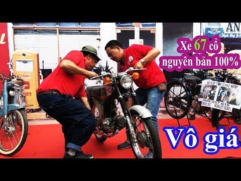 Xe 67 cổ Vô Giá của ông lão ở Sài Gòn - Old motorcycles, historic motorbikes in Sai Gon - Thời lượng: 17:24.