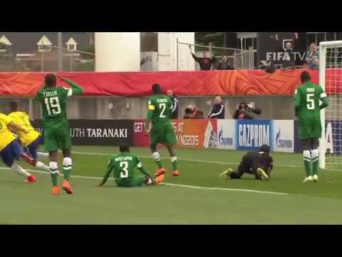 U20 World Cup: Nigeria 2-4 Brazil Goals and Highlights