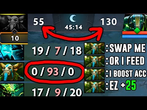 0 - 93 Greatest FEED in 7.07 Ever - Furion Dota 2