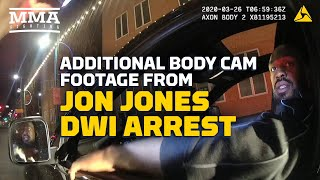 New Bodycam Footage of Jon Jones DWI Arrest Shows Gun, Recuerdo Found in Car  - MMA Fighting by MMA Fighting