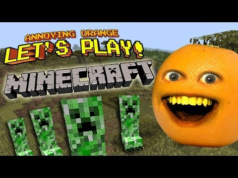 Annoying Orange Let's Play! – MINECRAFT