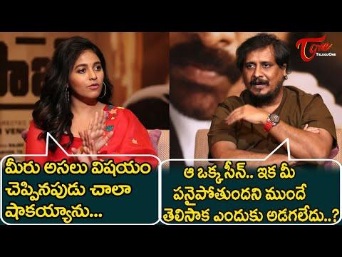 Anjali Shocked about the Moment @ Vakeel Saab Team Special interview| Sriram Venu | TeluguOne Cinema