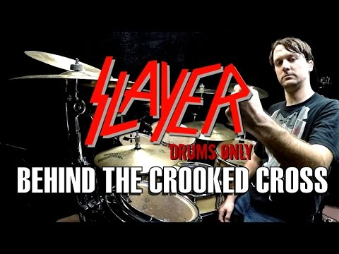 SLAYER - Behind The Crooked Cross - Drums Only
