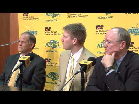 NDSU names Dave Richman head coach of men's basketball.