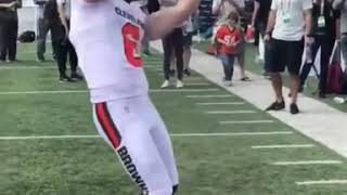 BAKER MAYFIELD AND OBJ 2019