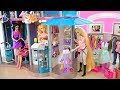 Download Lagu Amazing Barbie Doll Shopping Mall Set up! Pusat belanja boneka Barbie Puppe Einkaufszentrum Mp3 Free