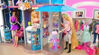 Video Amazing Barbie Doll Shopping Mall Set up! Pusat belanja boneka Barbie Puppe Einkaufszentrum MP3, 3GP, MP4, WEBM, AVI, FLV Maret 2019