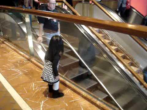 Chloe Saying Bye At The Copley Place Mall