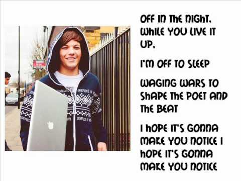 One Direction - Use Somebody lyrics