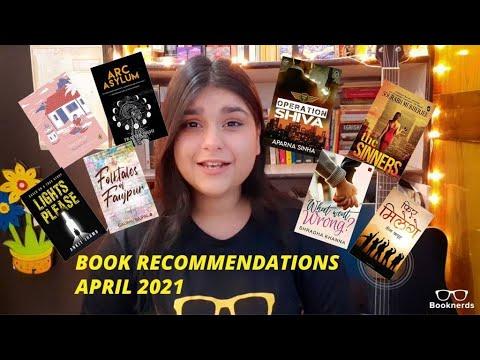 Book Recommendations   Booknerds   April 2021