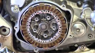 7. 2005 Honda CRF250X Clutch Disk Replace