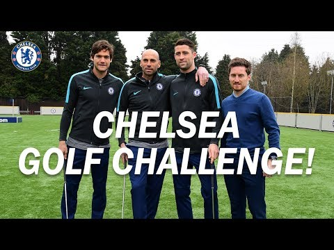 Alonso, Cahill & Caballero Take On The William Hill Golf Challenge!