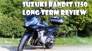 3. SUZUKI BANDIT 1250 LONG TERM REVIEW