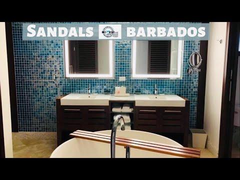 Sandals Barbados Full Walkthrough - Resort Tour