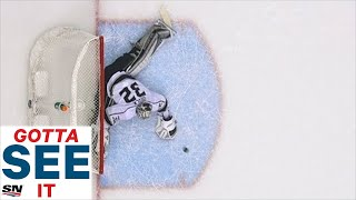 GOTTA SEE IT: Jonathan Quick Makes Three Consecutive Saves In Overtime by Sportsnet Canada
