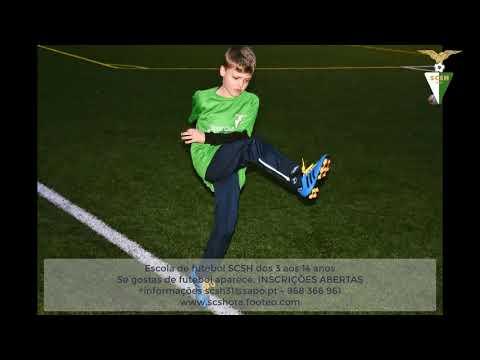 Escola de Futebol SCSH INSCRIÇÕES ABERTAS