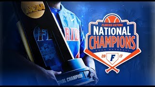 The 2017 National Champion Florida Gators Baseball team returns home and is honored at McKethan Stadium.