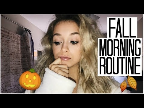Fall Morning Routine 2017 | Healthy & Productive