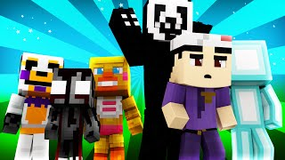 FNAF World - NIGHTMARIONNE! (Minecraft Roleplay) Night 14