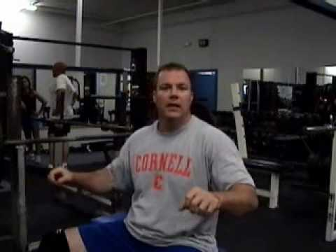bench - Here is a video instruction on how to setup for the barbell bench press and not injure or irritate your shoulders. Check out the new Accelerated Muscular Dev...
