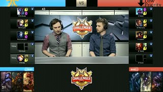 Low P vs FnaticA, game 1