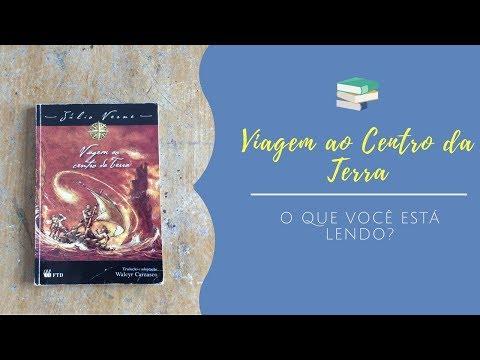 Viagem ao Centro da Terra - Júlio Verne [O que você está lendo?] [resenha de criança]