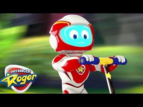 Space Ranger Roger | Roger Sticks the Landing | HD Full Episode 3 | Cartoons For Kids