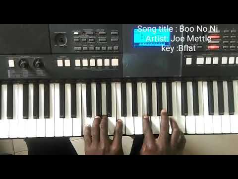 Joe Mettle: Bo Noo Ni Ft Luigi MacLean Piano Movements/tutorial