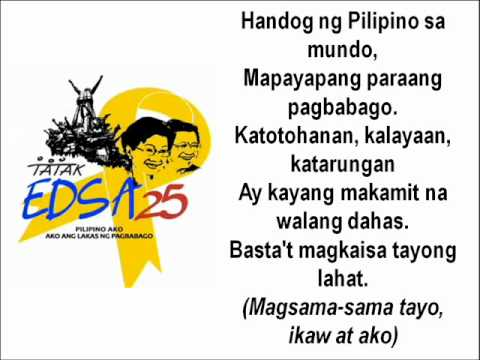 Video HANDOG NG PILIPINO SA MUNDO (EDSA 25) download in MP3, 3GP, MP4, WEBM, AVI, FLV January 2017