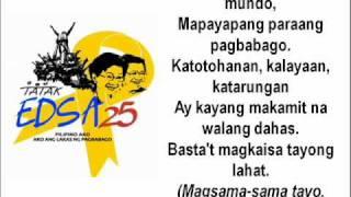 Download Lagu HANDOG NG PILIPINO SA MUNDO (EDSA 25) Mp3