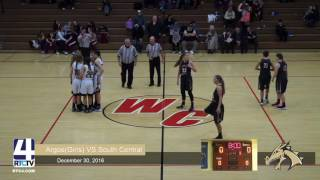 Argos Girls Basketball vs South Central