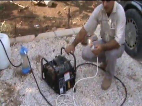 مولد كهرباء يعمل على الماء فقط h2o hydrogen water