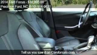 2014 Ford Focus Titanium 4dr Sedan for sale in Lillington, N