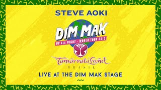 Steve Aoki - Live at the Dim Mak Stage - Tomorrowland Brasil 2015 (Audio)