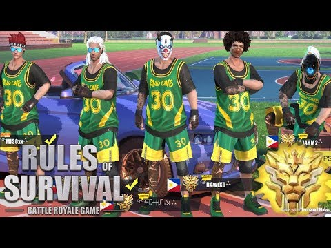 Download THE BEST BASKETBALL TEAM EVER!! - Rules of Survival (Tagalog) HD Mp4 3GP Video and MP3