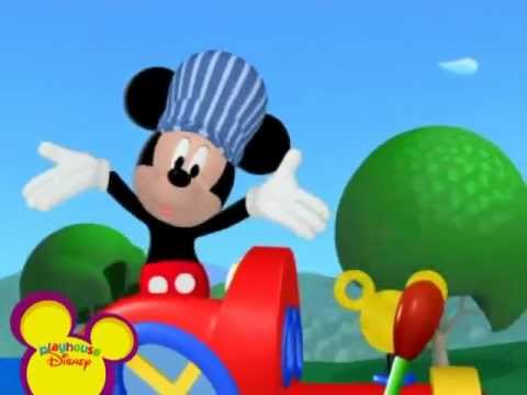 cancion chuchu tren mickey mouse