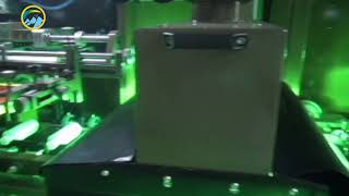 Automatic intelligent four-color screen printing machine for plastic, glass bottle, bottle cap youtube video