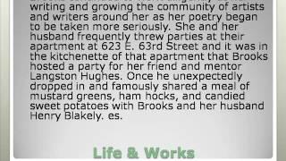 Gwendolyn Elizabeth Brooks Drawing For Coloring Gwendolyn Elizabeth Brooks Poetry Gwendolyn Elizabeth Brooks Biography...