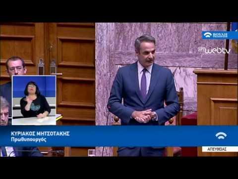 Δευτερολογία Κ. Μητσοτάκη Βουλή στη συζήτηση του Νομοσχεδίου για τις δημόσιες υπαίθριες συναθροίσεις