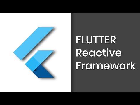Learn to build Flutter Reactive Framework | Basic App | Part 1 | Eduonix