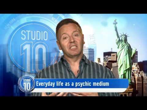 John Edwards: Talks 'Crossing Over' & Life As A Medium | Studio 10