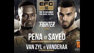 Video PENA vs SAYED 2 FULL FIGHT EFC 66 MP3, 3GP, MP4, WEBM, AVI, FLV Februari 2019