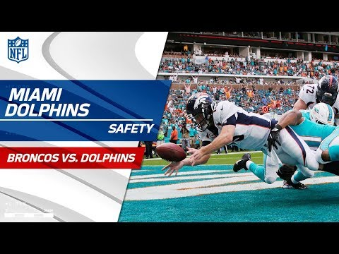 Video: Bad Snap by Denver Leads to a Safety vs. Miami! | Broncos vs. Dolphins | NFL Wk 13