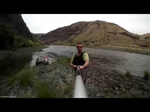 360+ degree selfie down the John Day river
