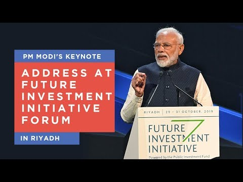 PM Modi's keynote address at Future Investment Initiative Forum in Riyadh
