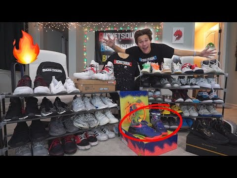 SHOWING MY ENTIRE *SUPER RARE* SHOE COLLECTION!! 🔥🔥