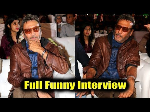 Jackie Shroff Funny Interview At Childrens Welfare Centre High Schools 37th Annual Day 2018