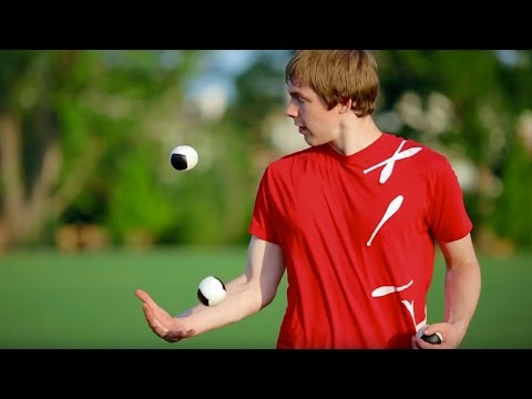 juggling - Matthew Weaver showing off his amazing torch, club, ball and ring juggling! Fire Poi sneaks in as well. ;) Check out the Behind the Scenes here! http://youtu...